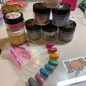 Other - Huge bundle of acrylic nail powders